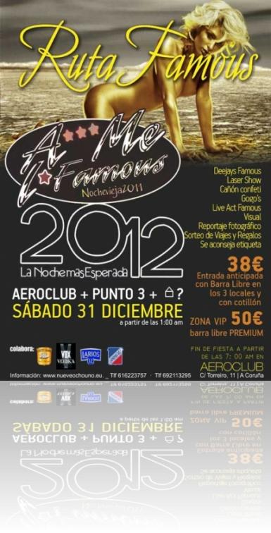 Fin de Año Famous Punto 3 Aero Club 2011