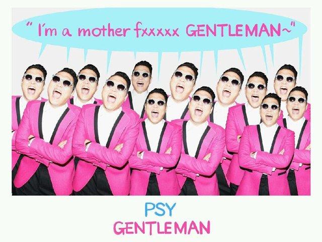 Gentleman lo nuevo de Psy 2013