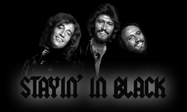 stayin in black (The Bee Gees AC DC Mashup by Wax Audio)