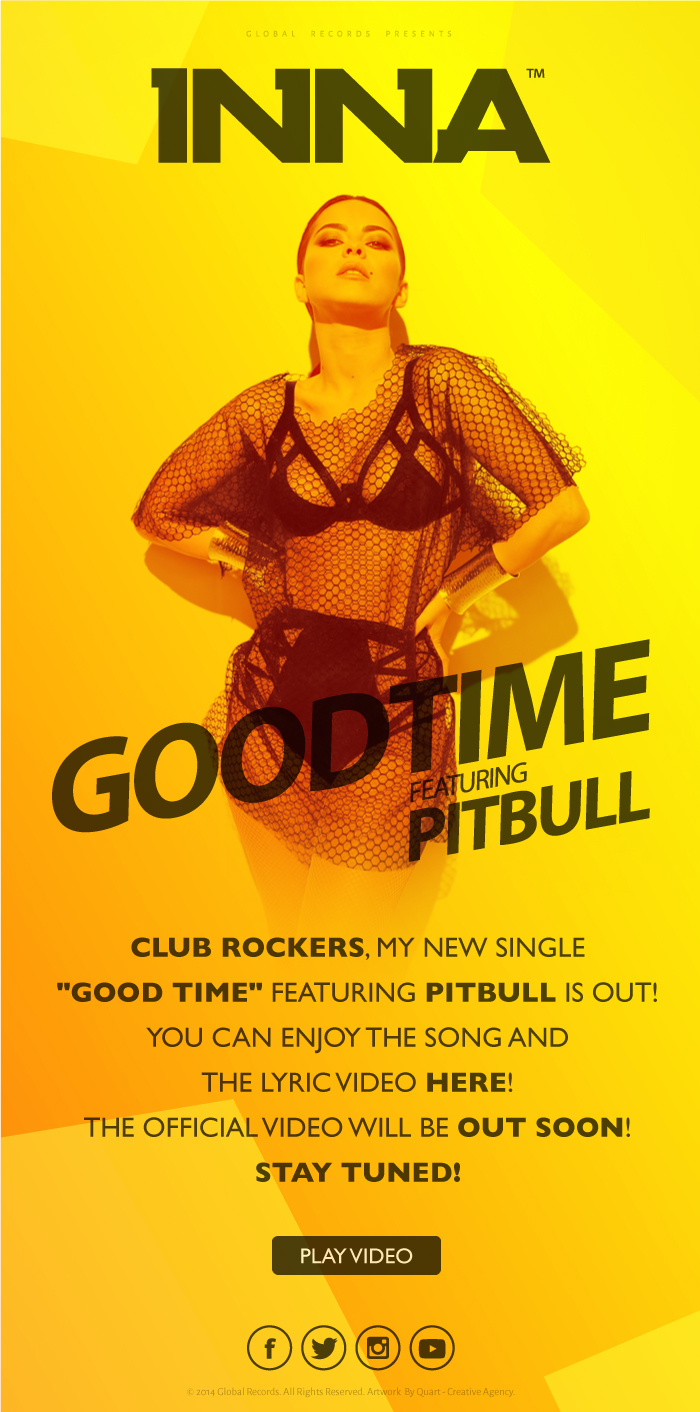 Inna GoodTime feat Pitbull