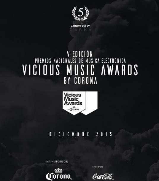 V edicion premios musica electronica vicious music awards 2015
